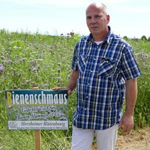 Gute Zusammenarbeit der Landwirte mit Herxheimer Imker