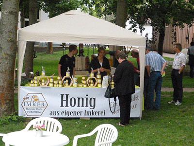 Honigstand Erdbeermarkt Herxheim